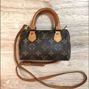 Vintage Louis Vuitton Nano Speedy Bag